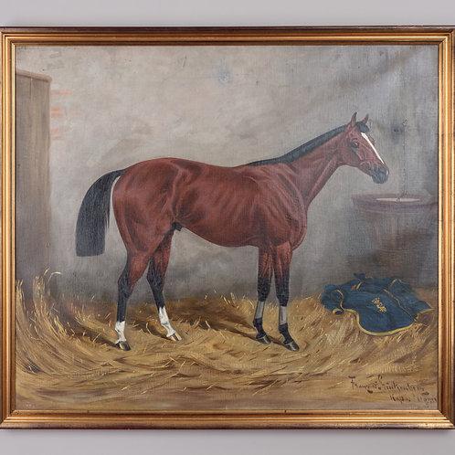 120. Fritz von Stuckenberg: Portret konja (Ritka II.)