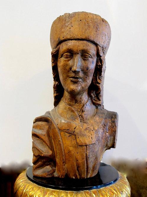82// Gotska busta (sv. Florjan?)
