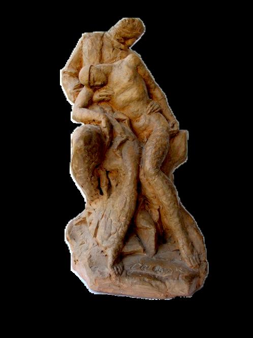 128// Lojze Dolinar: Pietá (Mati z mrtvim vojakom)