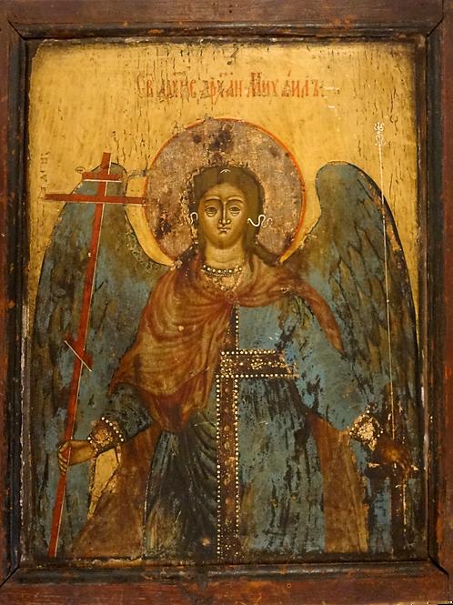 Obojestranska ikona – Vera Icon in Nadangel Mihael