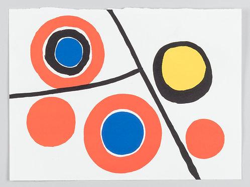 74. Alexander Calder: Grafika za revijo Derriére le Miroir