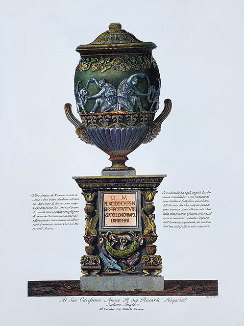130. Piranesi Giovanni Battista: Antična vaza I.