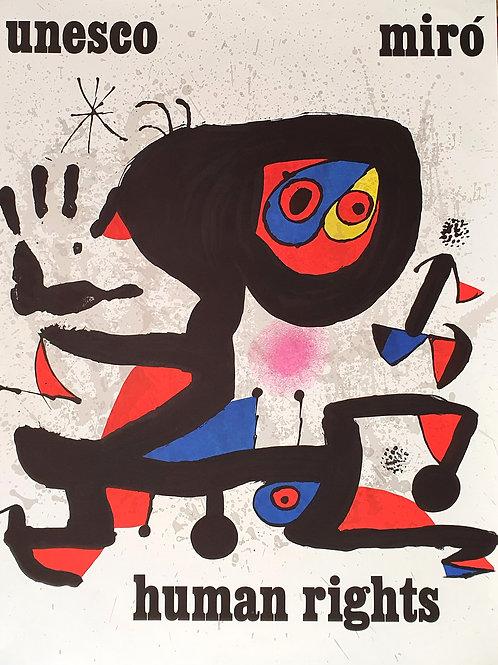 152. Unesco – Joan Miró: Human Rights