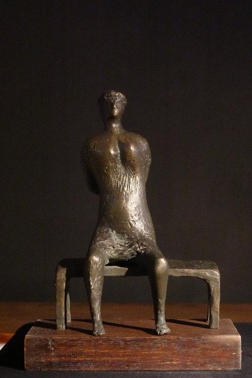 9. Slavko Krajnc: Sedeča ženska