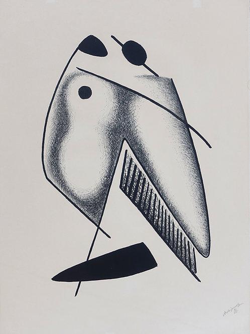131. Aleksandr Archipenko: Ljubimca (Les amoreaux)