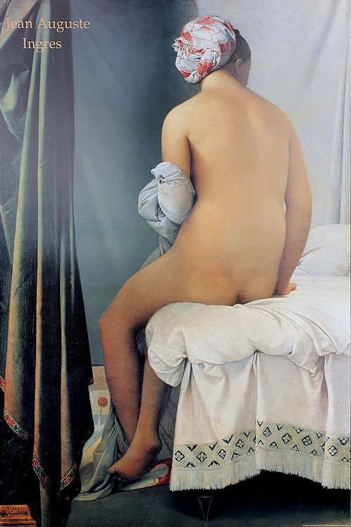 136. Jean Auguste Ingres: Kopalka (Louvre)
