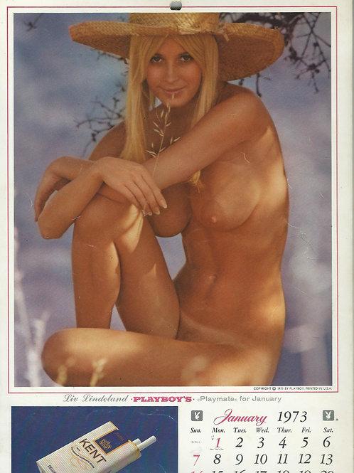 125. Playboy stenski koledar za leto 1973