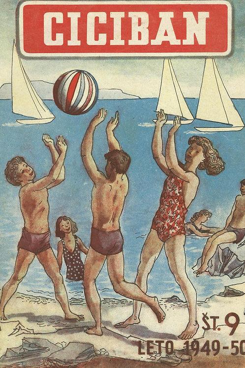 121. Ciciban, 1949/50, št. 9