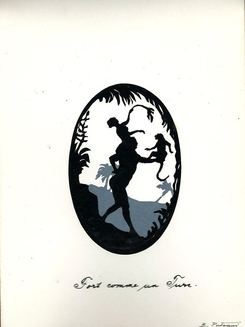 32. Bedřch Puteani (Friedrich von Puteani): Album senčnih slik za Huga Uhliřa