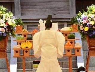 『開祖様47年祭・辛丑年夏越大祓式』