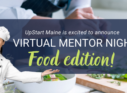 Sign Up for Virtual Mentor Night FOOD EDITION June 17th 4-6pm