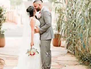 Ruis + Jazmin | Romantic Old Town Wedding | Albuquerque, NM