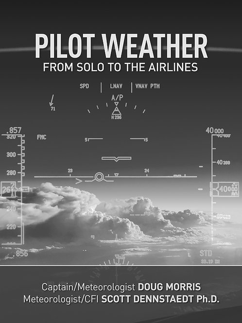 Pilot Weather B&W soft cover with color eBook