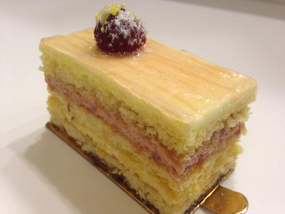 레몬 산딸기 케익