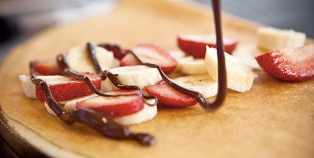 누텔라 딸기/바나나 크레페