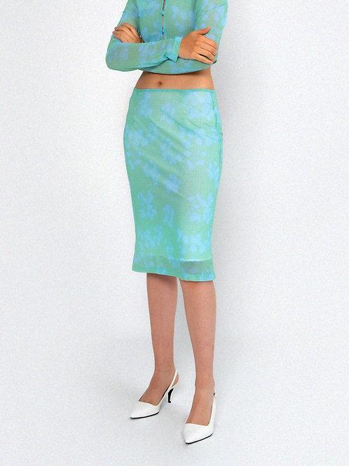 Berries Skirt GREEN
