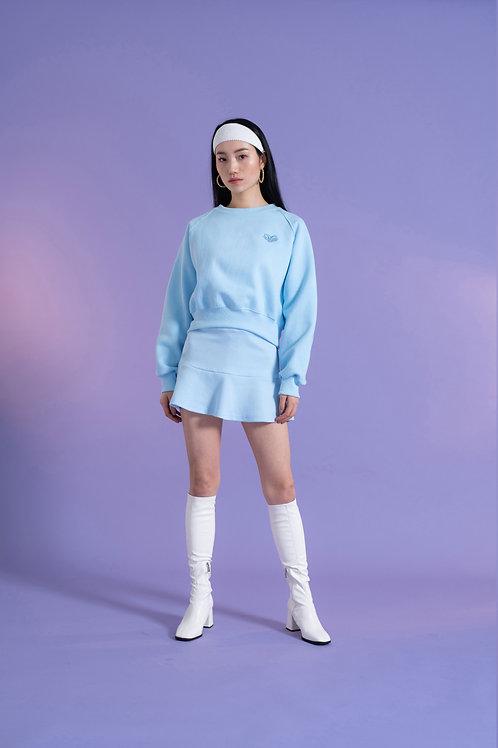 Cropped Sweatshirt BLUE