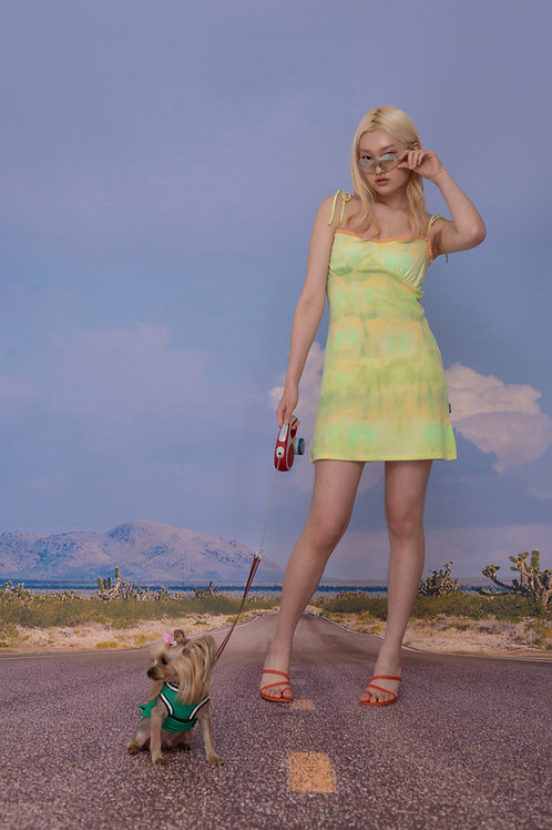 [REFURB] Aurora Dress LIME