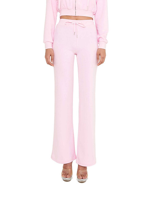Rhinestone Trackpants PINK