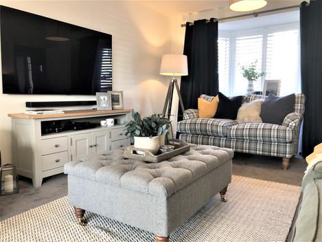 Living Room | Full Interior Design Service | Overton, Hampshire