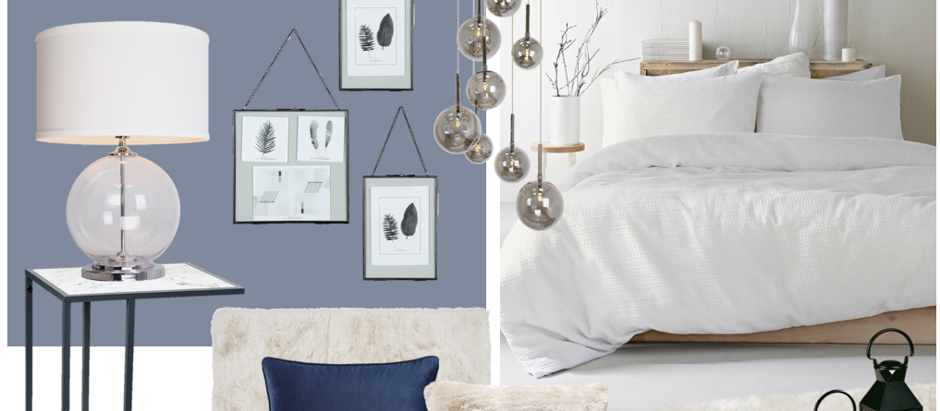 Tranquil blue Matalan bedroom for under £600!!