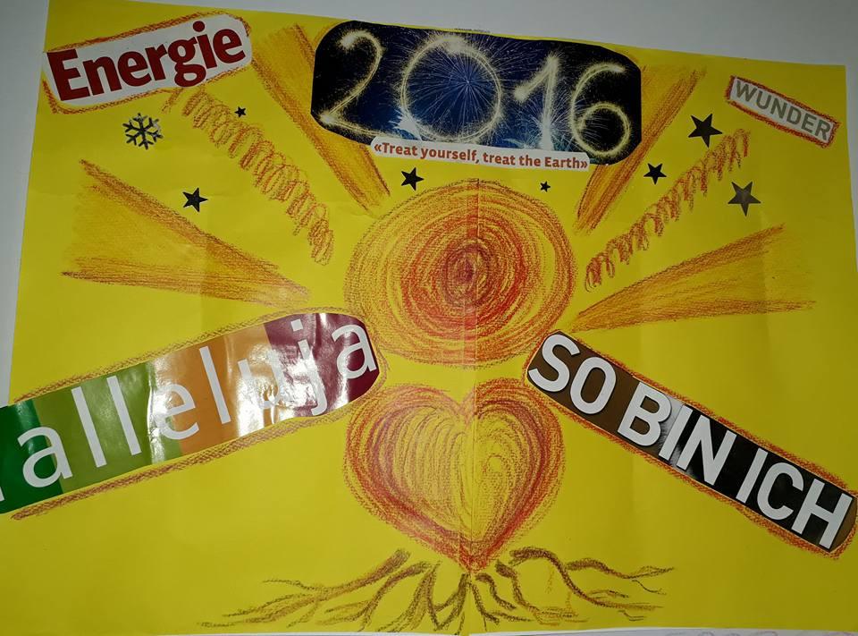 Visionboard 2016 Herz Kraft Licht Selbst-Akzeptanz