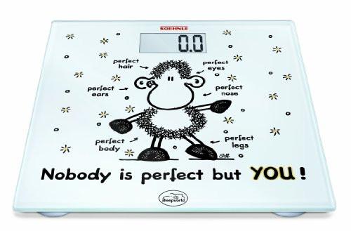 Körperwaage, du bist perfekt!