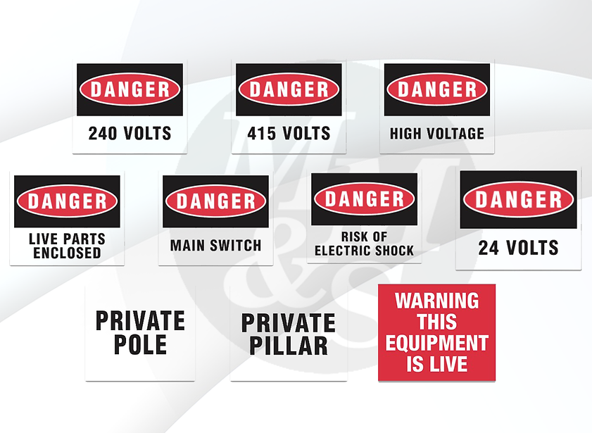 MM&S DANGER SPECIAL LABELS PRODUCT DISPLAY.pn