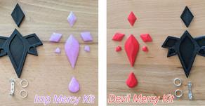 Imp/Devil Mercy Brooch Tutorial