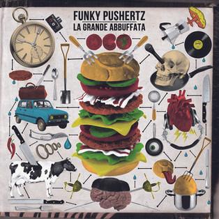 michele ciro franzese rosso funky pushertz cover artwork copertina