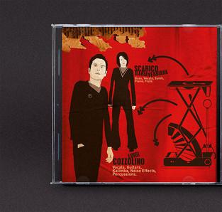 michele ciro franzese rosso el ghor dada danze cover artwork copertina