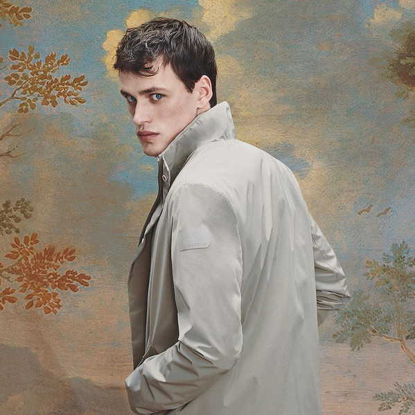 michele ciro franzese rosso museum jacket campaign
