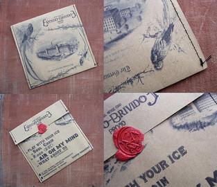 michele ciro franzese rosso brivido cover artwork copertina
