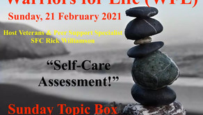 "Join Rick TONIGHT for the Warriors for Life (WFL) - ""Sunday Topic Box!"""