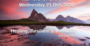 "TONIGHT - Warriors for Life (WFL) with Kirk Poe - ""Healing, Resiliency, and Immunity"""