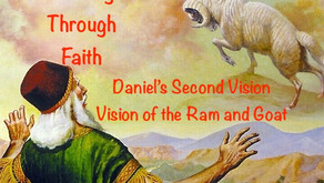 "TONIGHT Healing Through Faith Addition of Warriors for Life (WFL) - ""Daniel's Second Vision!"""