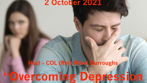 """Join the """"Colonel"""" & Warriors for Life (WFL) TONIGHT—Topic: """"Overcoming Depression in a Marriage!"""""""