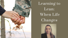 """Join Warriors for Life (WFL) TONIGHT - """"Learning to Lean on Others When Life Changes"""""""