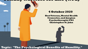 """Join Chris TONIGHT for Warriors for Life (WFL) - """"The Psychological Benefits of Humility."""""""