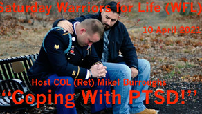 "Online Peer Support TONIGHT with Warriors for Life (WFL) - ""Coping With PTSD!"""