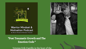 "TONIGHT ""Post Traumatic Growth & The Emotion Code"" - (WFL) - Guest Erik Castillo"