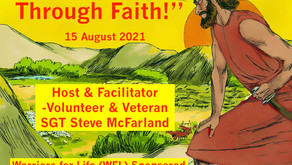 """Tune in TONIGHT for """"Healing Through Faith"""" with Warriors for Life (WFL) - """"Who Am I?"""""""