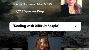 """Tune in TONIGHT with Alia for Warriors for Life (WFL) - """"Dealing With Difficult People!"""""""