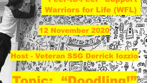 """""""Peer-to-Peer"""" Support with Warriors for Life (WFL) TONIGHT - Topic is """"Doodling!"""""""