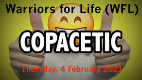 """Join Warriors for Life (WFL) TONIGHT with Veteran Derrick Iozzio - """"Copacetic!"""""""