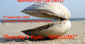 "TONIGHT with Derrick - Warriors for Life (WFL) - ""MOLLUSK!"""