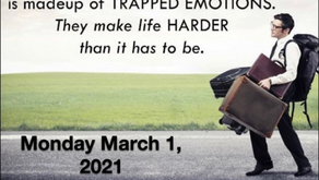 "Do you have ""Emotional Baggage?"" Join Kirk Poe for Warriors for Life (WFL) TONIGHT"