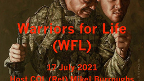 """Join the """"Colonel"""" TONIGHT for Warriors for Life (WFL)—""""Open Discussion About Anything!"""""""