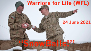 """Join Derrick and Warriors for Life (WFL) TONIGHT for Interesting Discussion on """"SnowBalls!"""""""