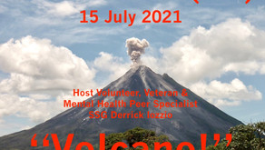 """Drop In TONIGHT and Join Derrick for Warriors for Life (WFL) — """"Volcano!"""""""